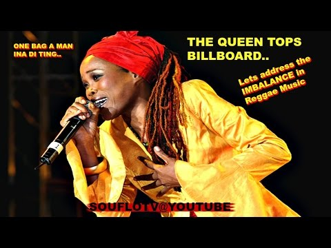 Queen Ifrica Tops Billboard, One bag a man ina di ting, Reggae Imbalanced