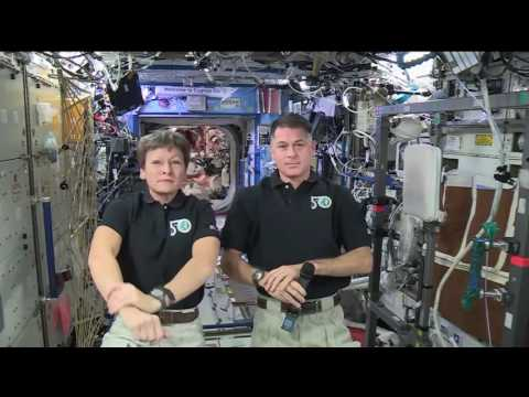 Space Station Crew Members Discuss Upcoming Spacewalks and Life in Space