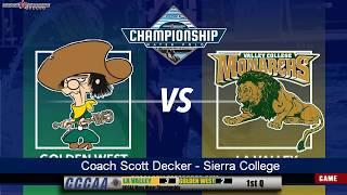 CCCAA Men's Water Polo Final: Golden West vs LA Valley - 11/17/18 - 10:30am