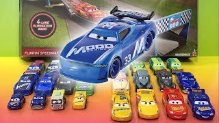 Disney Cars 3 Ed Truncan Giveaway Pre Race Roblox Toy Florida Speedway Race Off 🔴 Live Toy Show