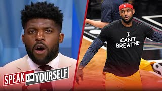NBA painting BLM & plan for custom nameplates won't lead to real change - Acho | SPEAK FOR YOURSELF
