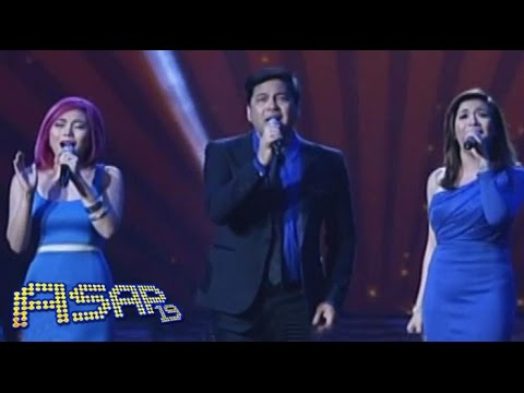 Angeline, Yeng & Martin sing 'Isang Lahi' on ASAP