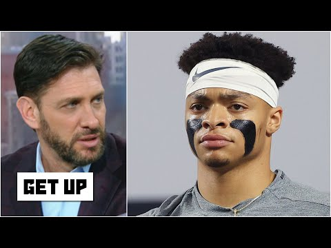 Greeny is confused about Justin Fields' NFL draft stock falling | Get Up