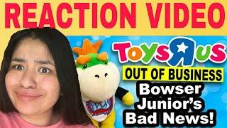 SML Movie: Bowser Junior's Bad News! REACTION!