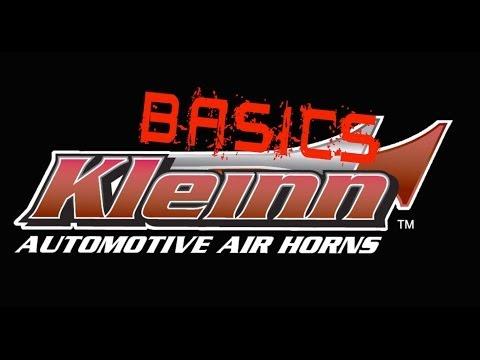 Kleinn Air Horn Basics: How to Wire Solenoid Valves