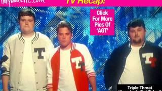 americas got talent tv recap triple threat stumbles week 12 lead