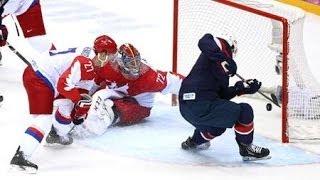Россия США 2-3 Незащитаная шайба Тютина. Олимпиада в Сочи 2014
