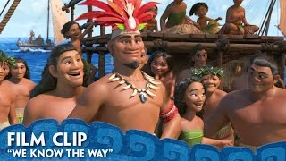 We Know The Way Clip - Moana @ www.StoryAt11.Net