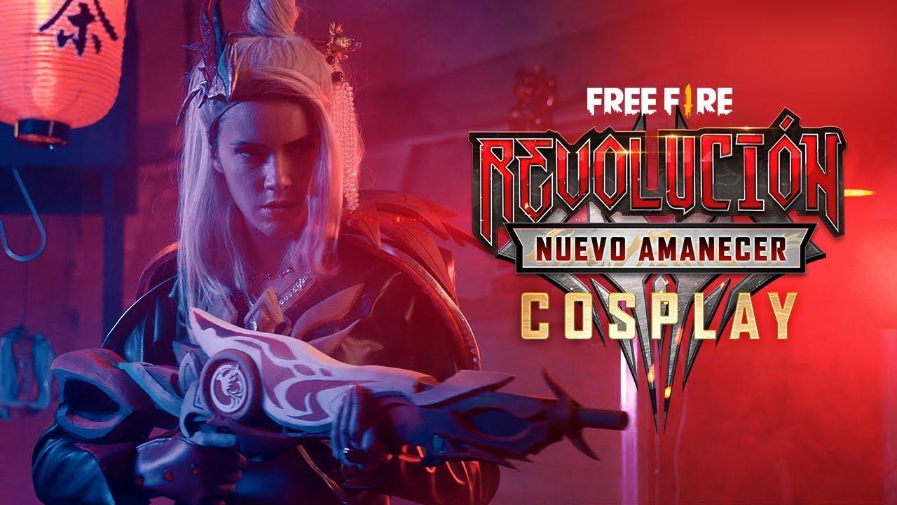 COSPLAY: Revolución Nuevo Amanecer🔥 | Garena Free Fire
