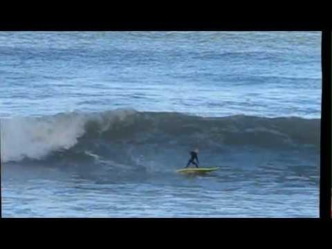 Bro'Surfer surfing Muizenberg June 2012