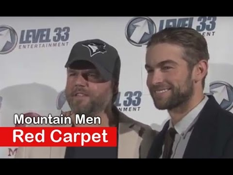 Chace Crawford, Tyler Labine: Mountain Men Movie - Red carpet