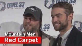 Chace Crawford Tyler Labine: Mountain Men Movie - Red carpet