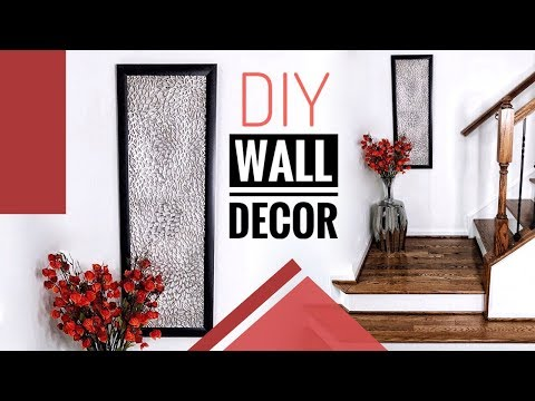 DIY Wall Decor Using Items You Probably Already Have | Home Decor Ideas