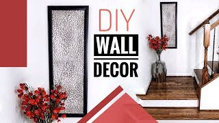 DIY Wall Decor Using Items You Probably Already Have   Home Decor Ideas