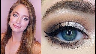 Классический макияж глаз, лица, губ пошагово: видео-урок