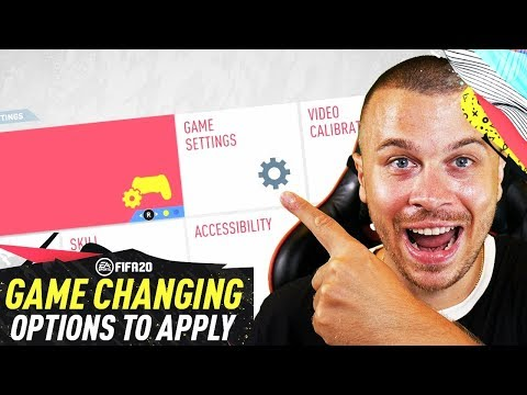 FIFA 20 BRAND NEW GAME CHANGING SETTINGS & OPTIONS YOU NEED TO APPLY TO GET BETTER TUTORIAL