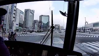富山市内線電車 環状線に乗ってきました。2