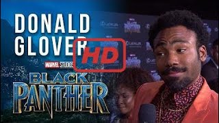 Donald Glover on the Marvel Studios' Black Panther World Premiere Red Carpet  | TV 2017