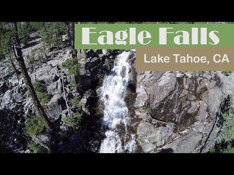 Drone Video of Eagle Falls in 4k (Lake Tahoe, CA)