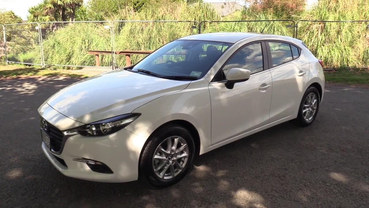 Mazda 3 Gsx Hatch 2017 Presentation Snowflake White