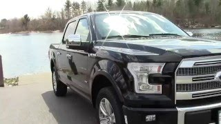 2016 Ford F-150 Platinum | Road Test & Review
