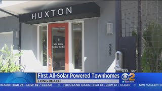 Solar-Powered, All-Electric Townhomes Go Up For Sale In Long Beach