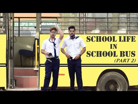 SCHOOL LIFE IN SCHOOL BUS | Types of Students | PART-2 || JaiPuru