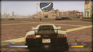 Driver Sanfrancisco Lamborghini Murcielago LP670-4 SV [720pHD]