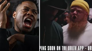 GLUEAZY Air The CAVE & DRACULA The F@$% OUT!!! vs TAY ROC!! SMACK #URLTVAPP INTENSE BATTLE! REACTION