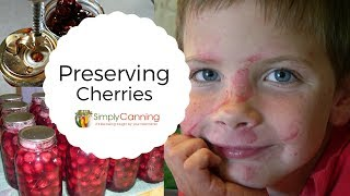 Preserving Cherries, canning, freezing, pie filling, the best pitter ever!