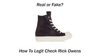 Rick owens aliexpress
