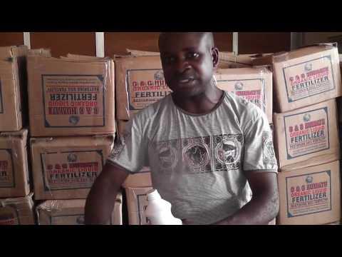 AGRIC INNOVATION: Introducing Organic Fertilizer