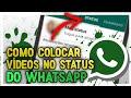 Como colocar vídeos no status do WhatsApp