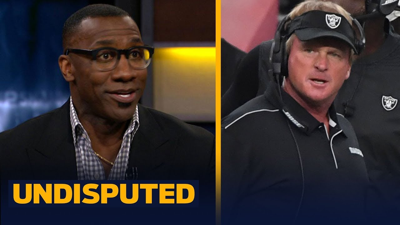 Jon Gruden is 'mad as hell' over Antonio Brown's helmet issue - Shannon Sharpe | NFL