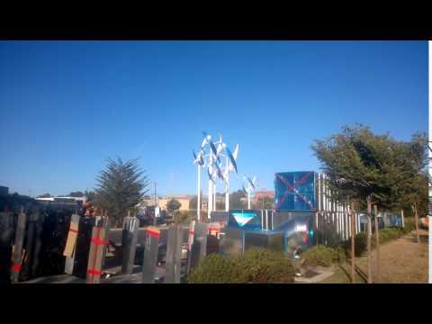The DNA windmills