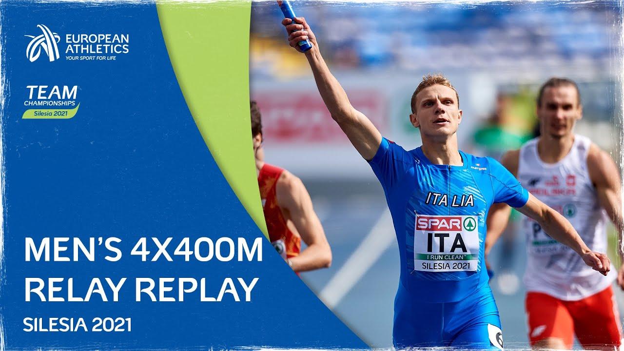 Men's 4x400m Relay Final Replay - Team Championships Silesia 2021