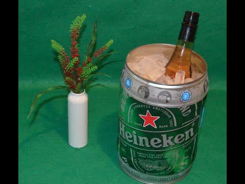 How Turn Heineken Keg Into A Cooler Como Convertir Barril