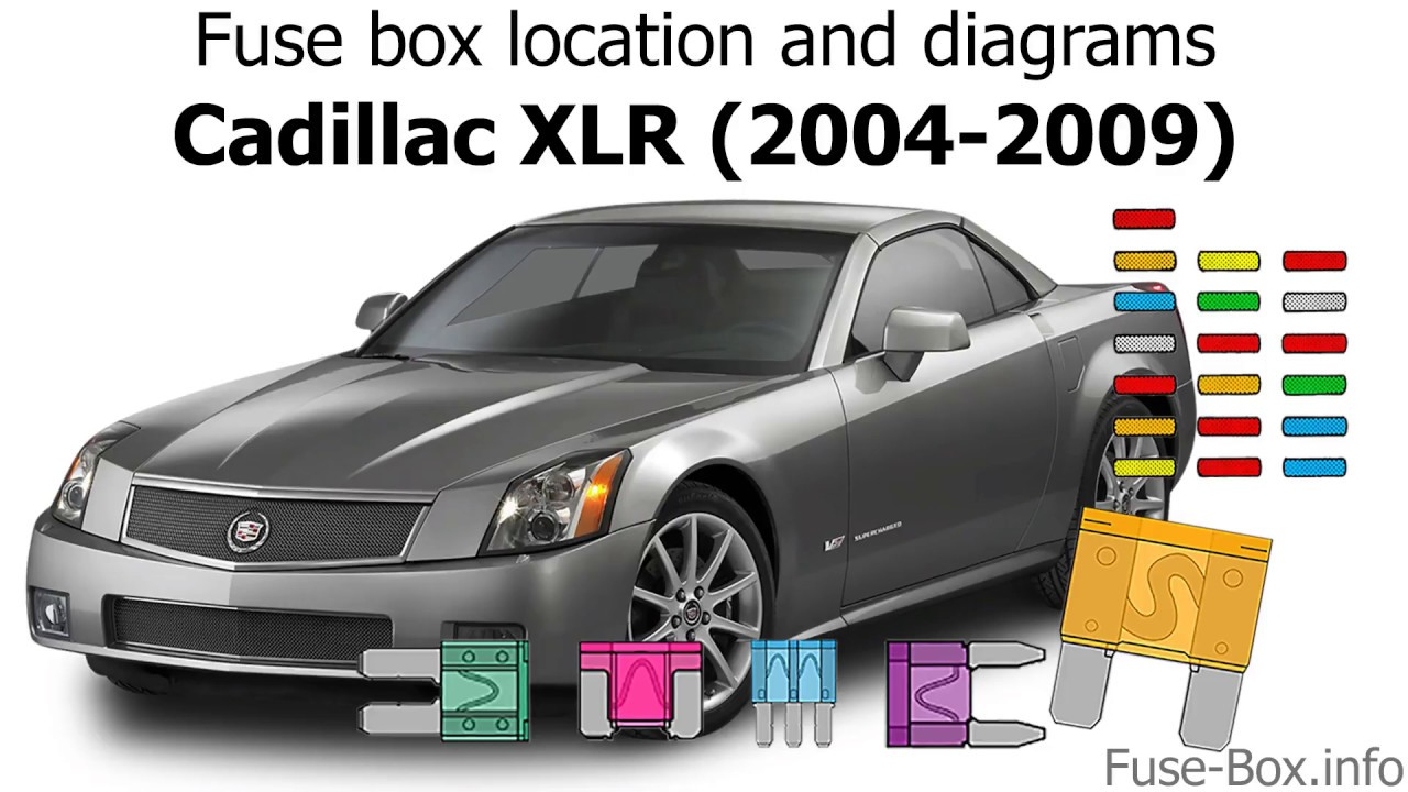 medium resolution of fuse box location and diagrams cadillac xlr 2004 2009