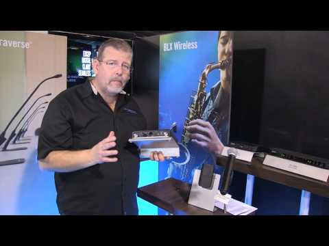 Shure BLX Wireless System - Preview