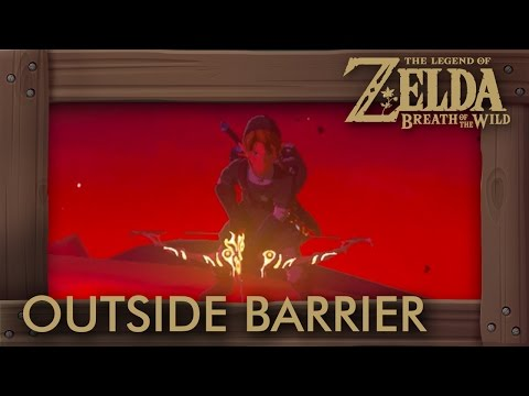 Zelda Breath of the Wild - Defeating Final Boss Outside the Barrier ... Is It Possible?