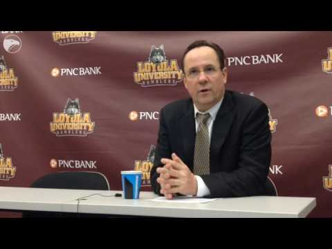 Coach Gregg Marshall talks about win over Loyola