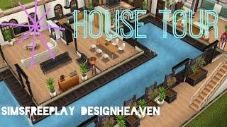 Sims Freeplay House Tour // Beachside Mansion