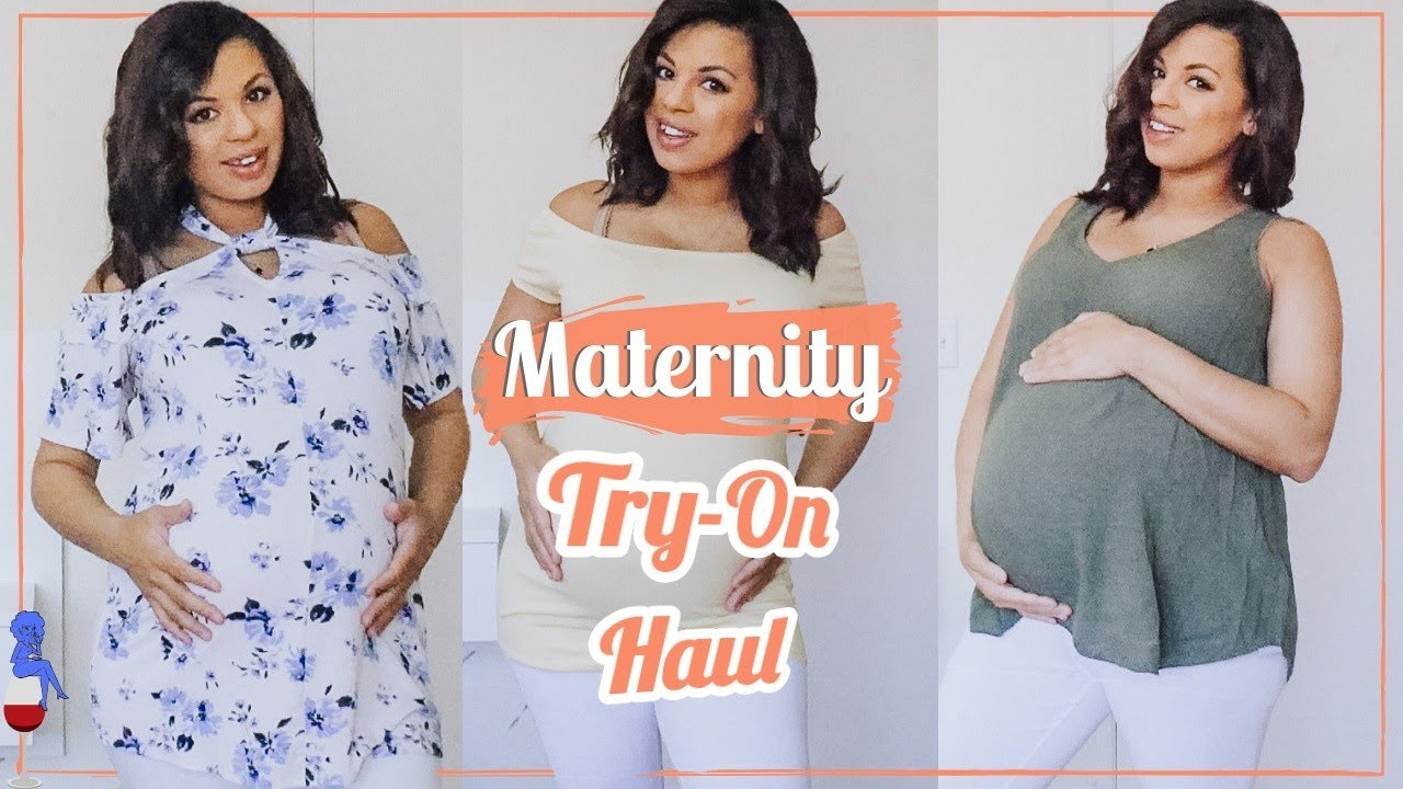 1ec0039584ff8 Maternity Try On Haul 2019 / Stitch Fix and Motherhood / Spring 2019