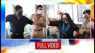 Arnab Goswami Assaulted & Arrested By Police; Watch this SHOCKING video from his house