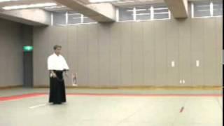 Koji YOSHIDA Nishio-ryu Iaido (Toho Iai no2)