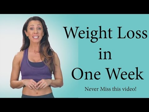lose weight fast in 1 week without exercise – Never Miss this video