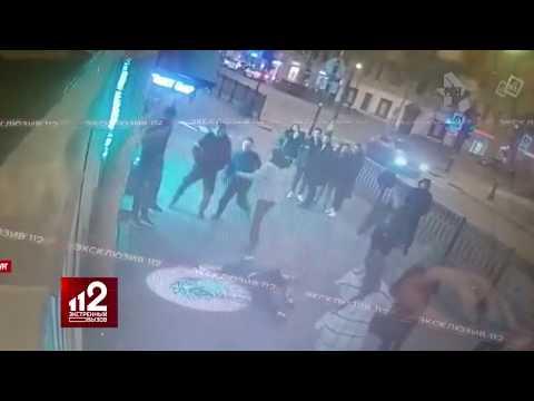 """Культурная"" драка у ночного клуба. Видео!"