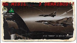 Un MISIL, 3 DERRIBOS!!  (Guerra de Irán-Irak, 7/1/1981) By TRUFAULT