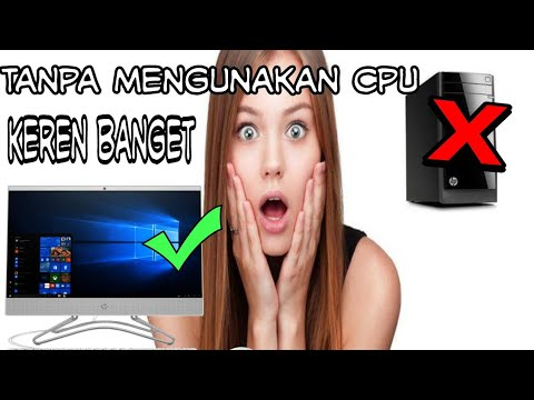 Unboxing HP All IN ONE PC  Murah Meriah