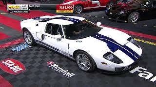2006 Ford GT Sells for $297,500 // Mecum Pomona 2018